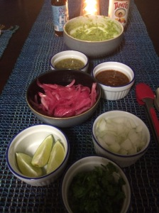 Toppings for Al Pastor